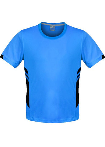 Tasman Training T-Shirt - Cyan/Black