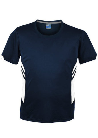 Tasman Training T-Shirt - Navy/White
