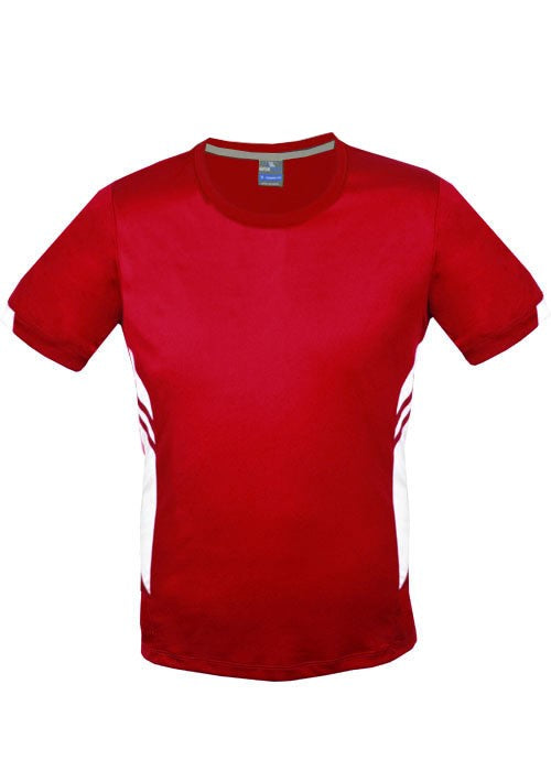 Tasman Tee - Red/White