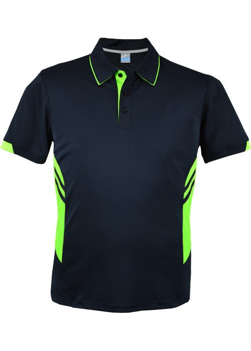 Tasman Polo - Black/Green