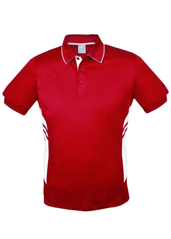 Tasman Polo - Red/White