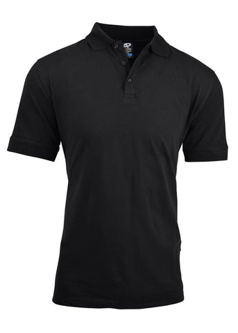 Claremont Mens Polo - Black