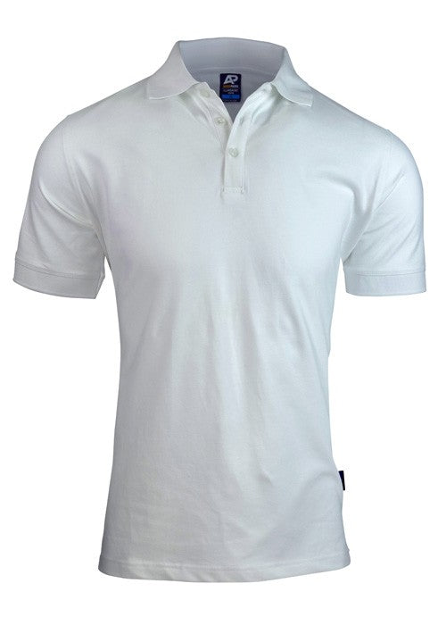 Claremont Mens Polo - White