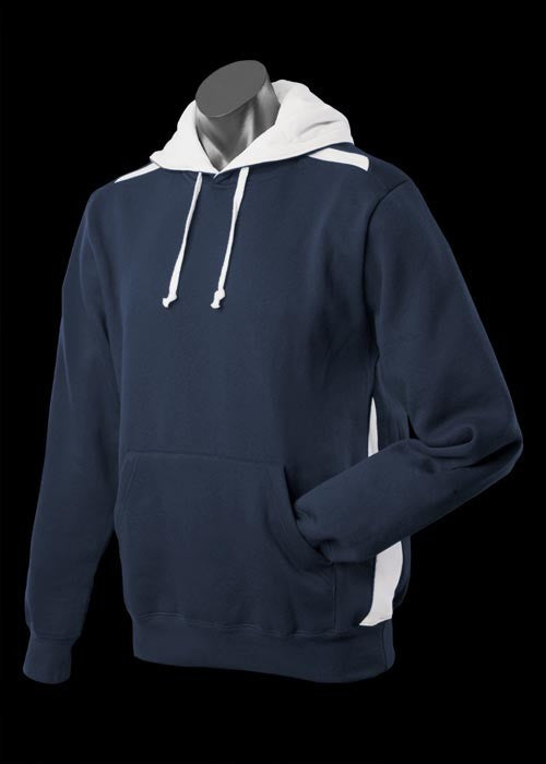 Patterson Hoodie - Navy/White