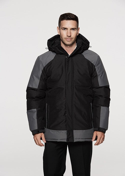 Kingston Outdoor Jacket - Black/Grey