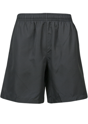Kids Pongee Shorts - Black