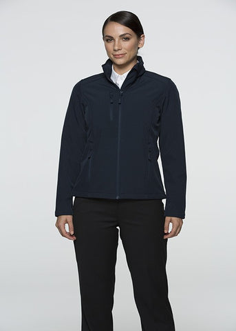 Olympus Ladies Softshell Jacket - Navy