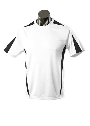 Kids Eureka Sports Tee - White/Black