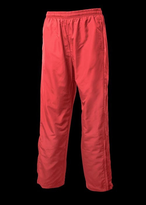 Kids Sports Track Pants - red