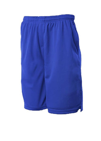 Kids Sports Shorts - Royal
