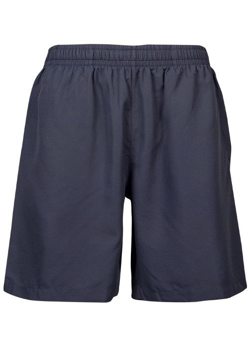 Kids Pongee Short - Navy