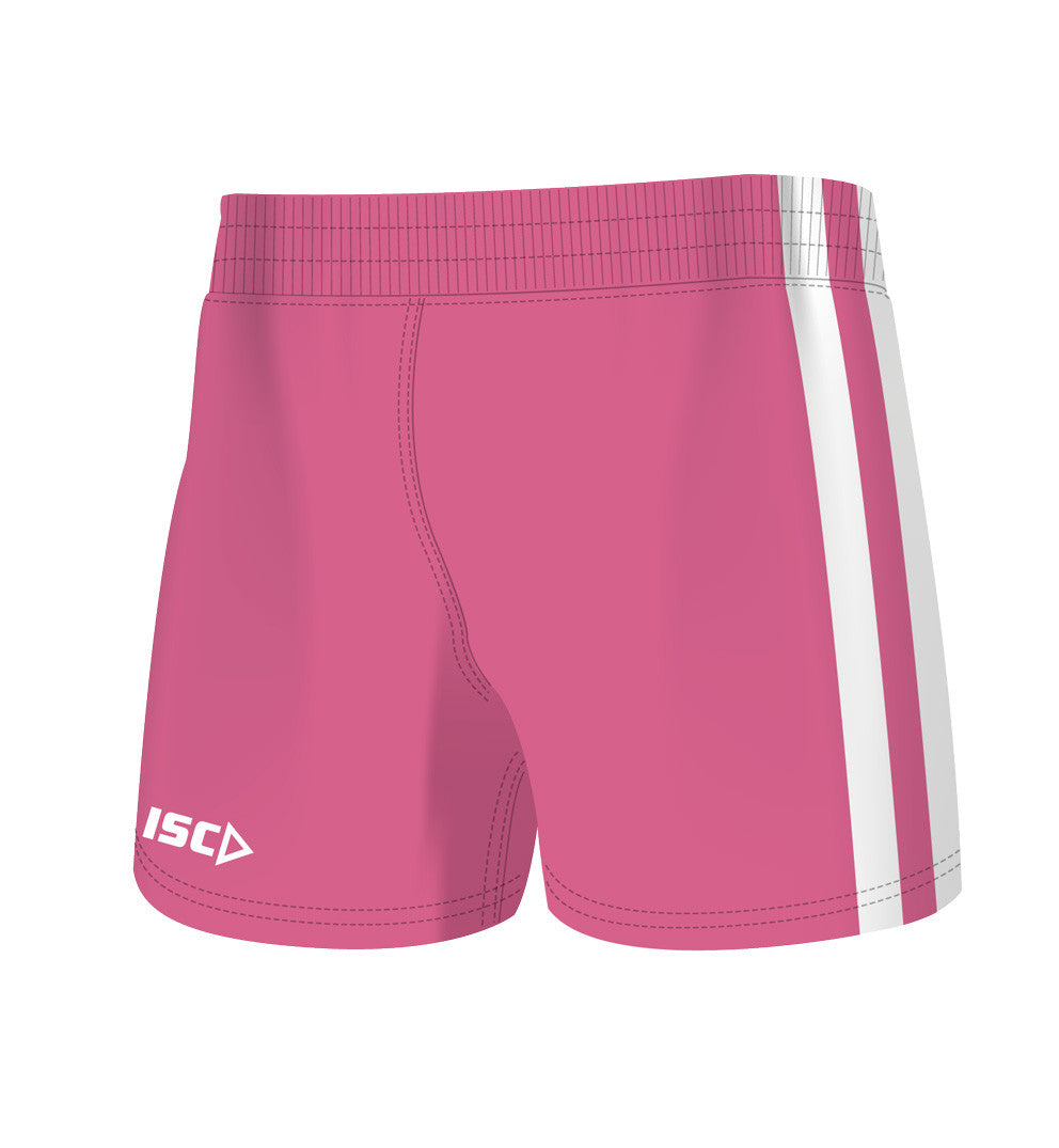 Pink Supporter Kids Shorts