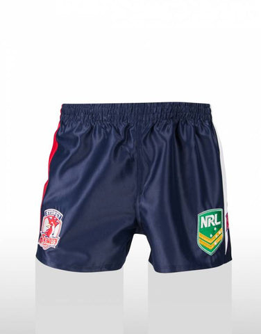 Sydney Roosters Away Kids Shorts