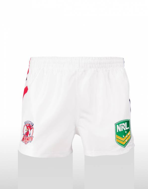 Roosters Supporter Shorts - White
