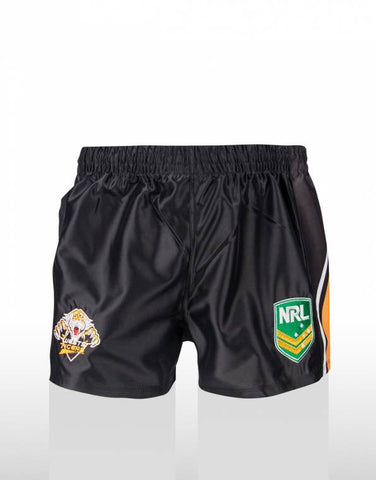 Wests Tigers Kids Supporter Shorts