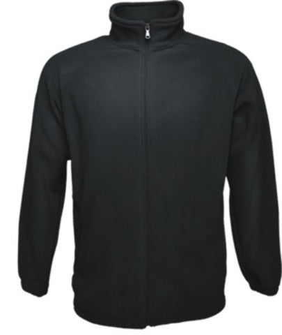 Mens Polar Fleece Jacket - Black