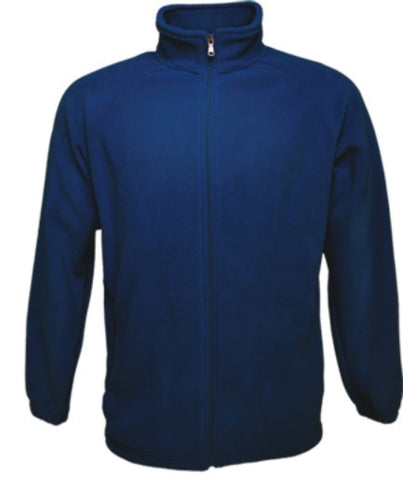 Mens Polar Fleece Jacket - Navy