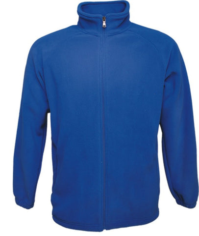 Mens Polar Fleece Jacket - Royal