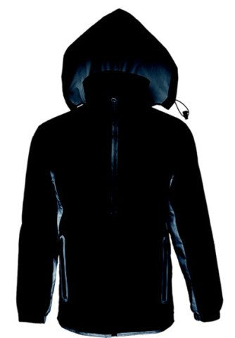 REFLECTIVE JACKET - BLACK