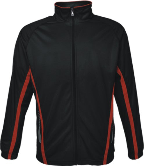 Kids Elite Sports Jacket - Black/Red