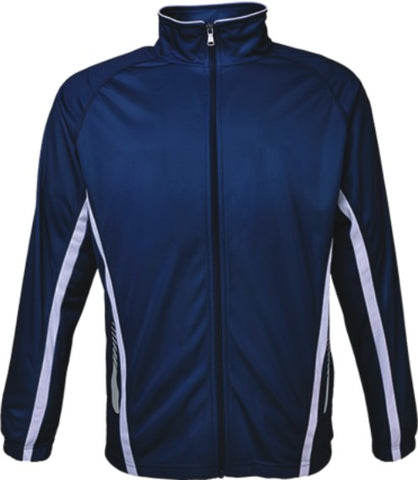 Kids Elite Sports Jacket - Navy/White