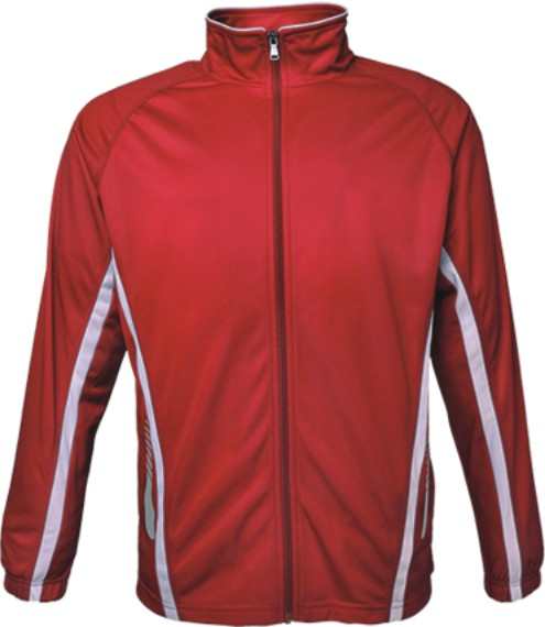 Kids Elite Track Jacket - Red/White