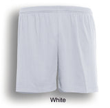 Kids Plain Soccer shorts - White