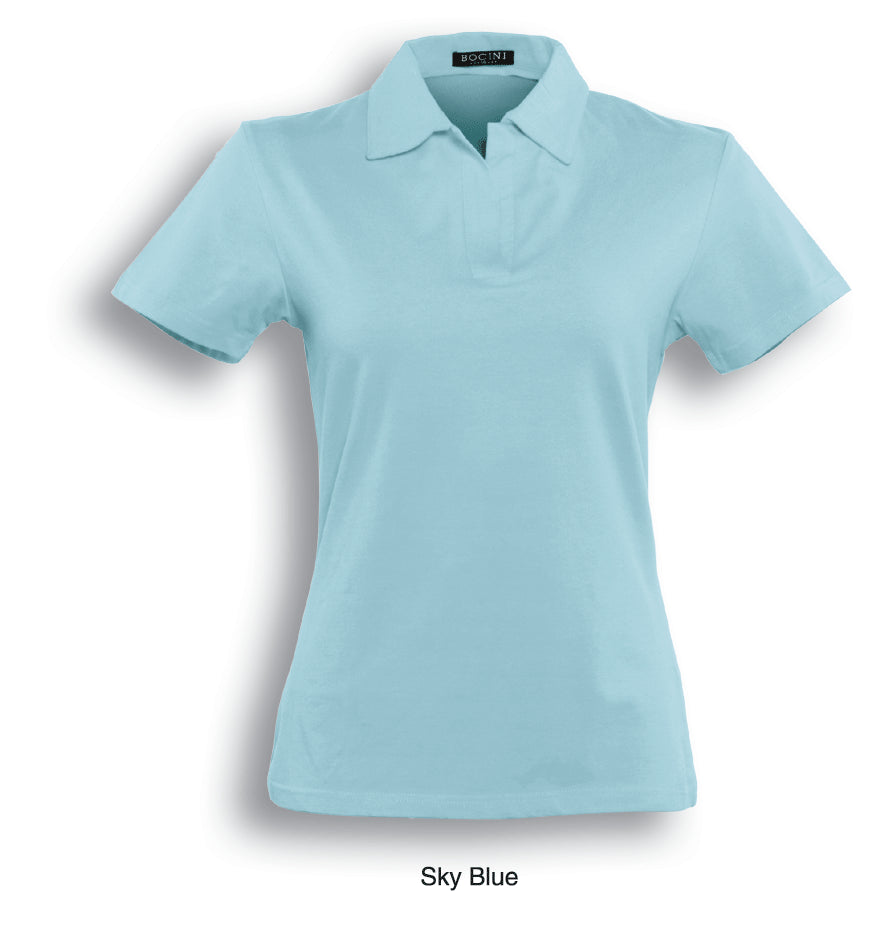 Ladies Polo - Sky Blue
