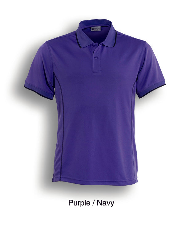 Essentials Polo - Purple/Navy