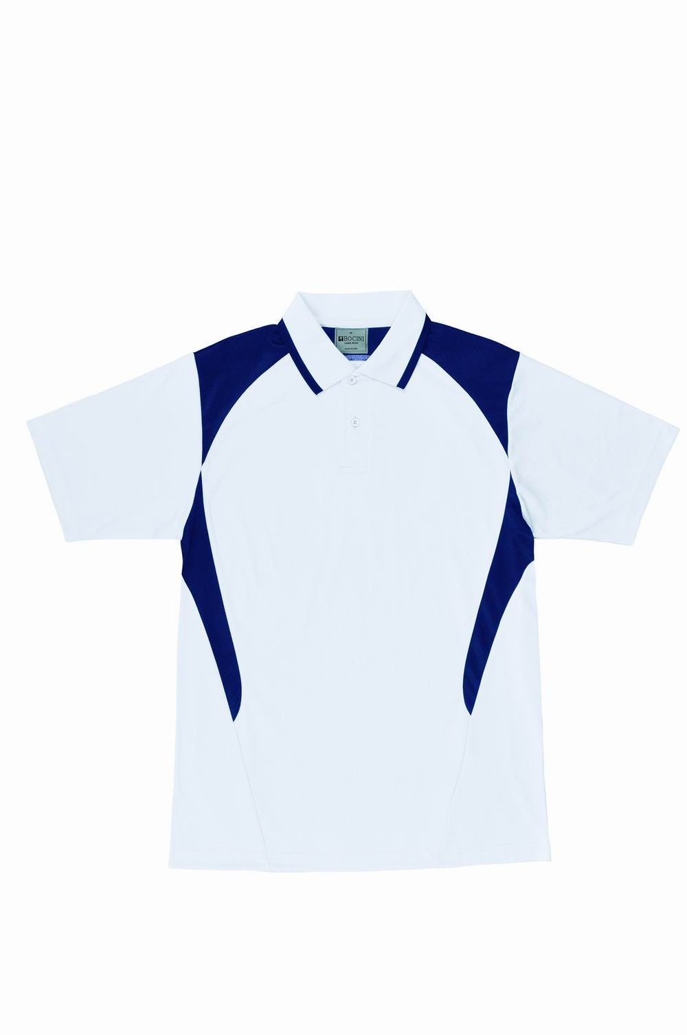 Active Polo - White/Navy