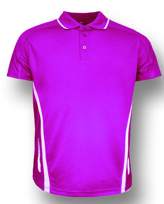 Elite Polo - Magenta/White