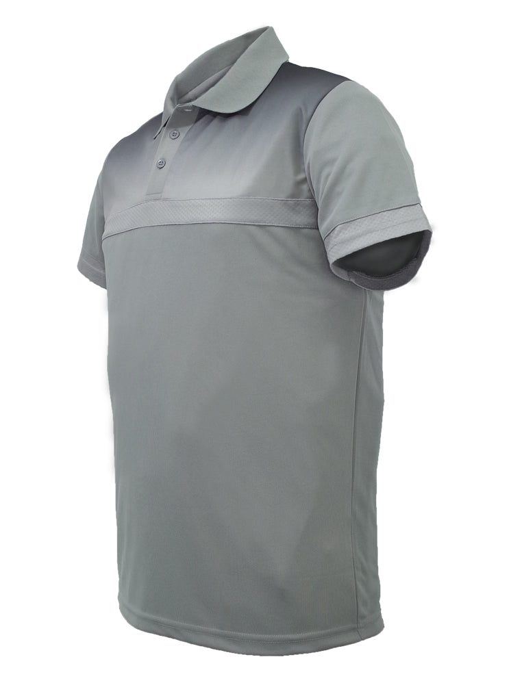 Sublimated Polo - Grey/Black