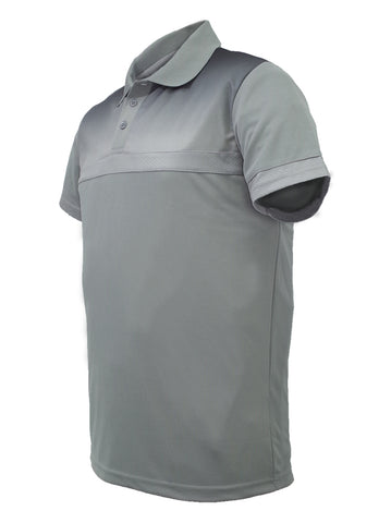 Sublimated Casual Polo - Grey/Black