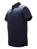 Sublimated Polo - Navy/White