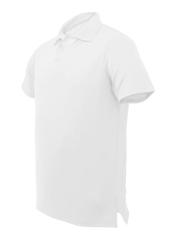 Smart Golf Polo - White