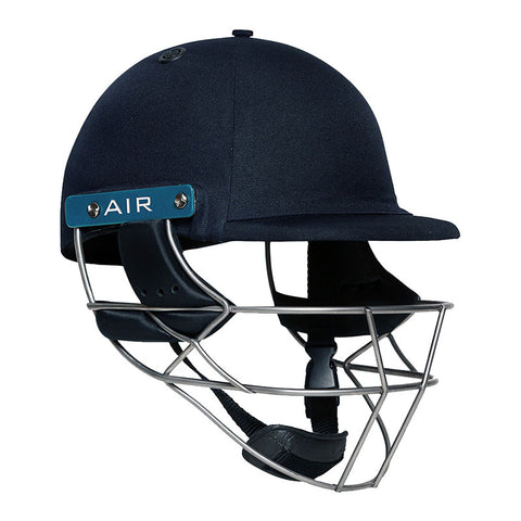 Shrey Masterclass Air Tit 2.0 Cricket Helmet - Navy