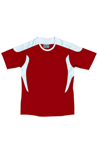 Kids All Sports Football Jersey - Red/White