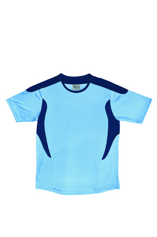 Kids All Sports Football Jersey - Sky/Navy