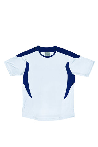 Kids All Sports Football Jersey - White/Navy