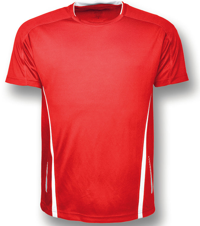 Elite Sports Tee - Red/White