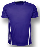 Kids elite Tee - Purple/White