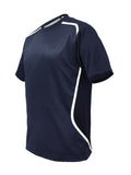 Sublimated Sports T-Shirt - Navy/White
