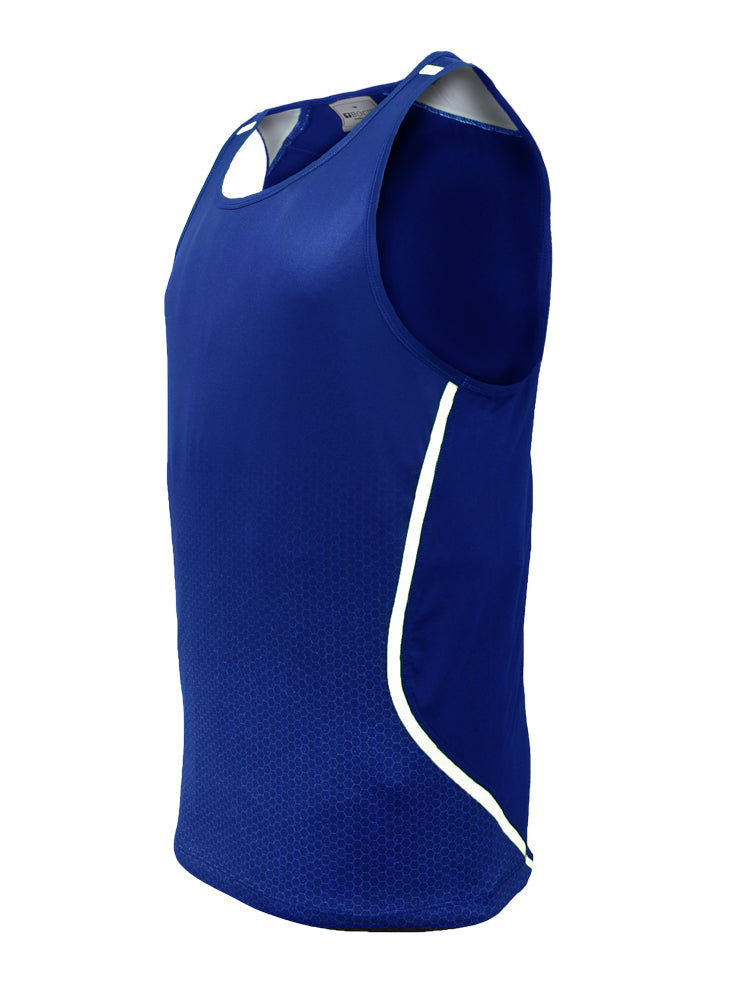 Sports Singlet - Royal/White