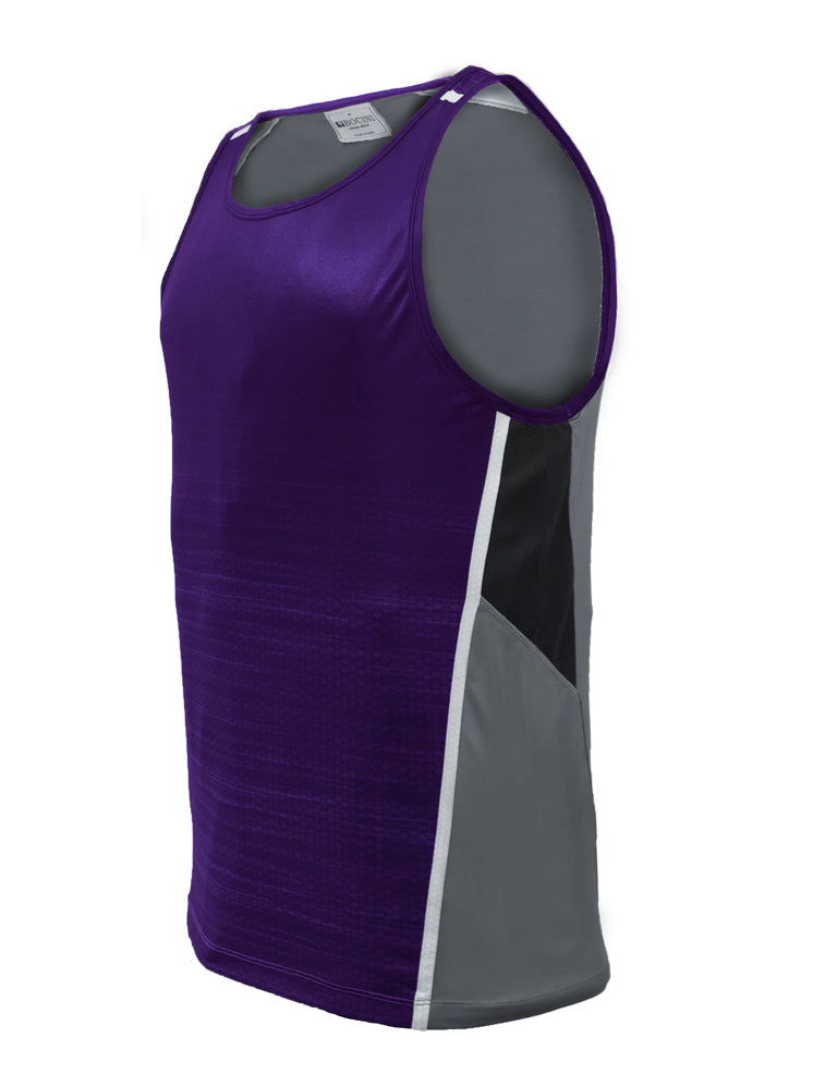 Sublimated Singlet - Pur/Gry