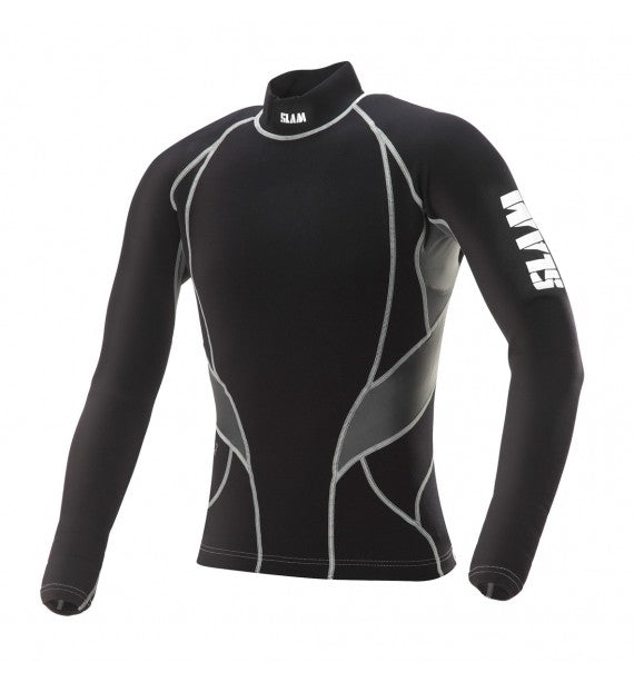 Slam L/S Titanium Rash Top