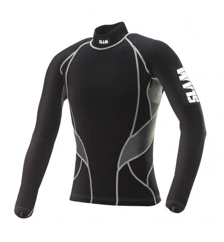 Slam Longsleeve Titanium Rash Top