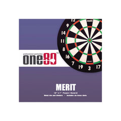 One 80 Merit Dartboard