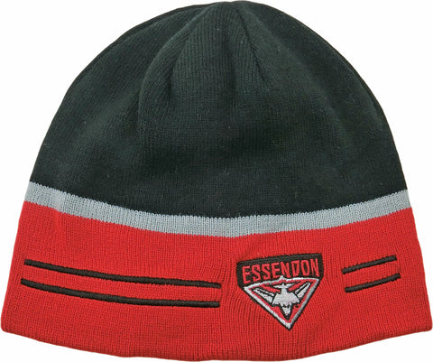 Essendon Bombers Switch Reversible Beanie 2018
