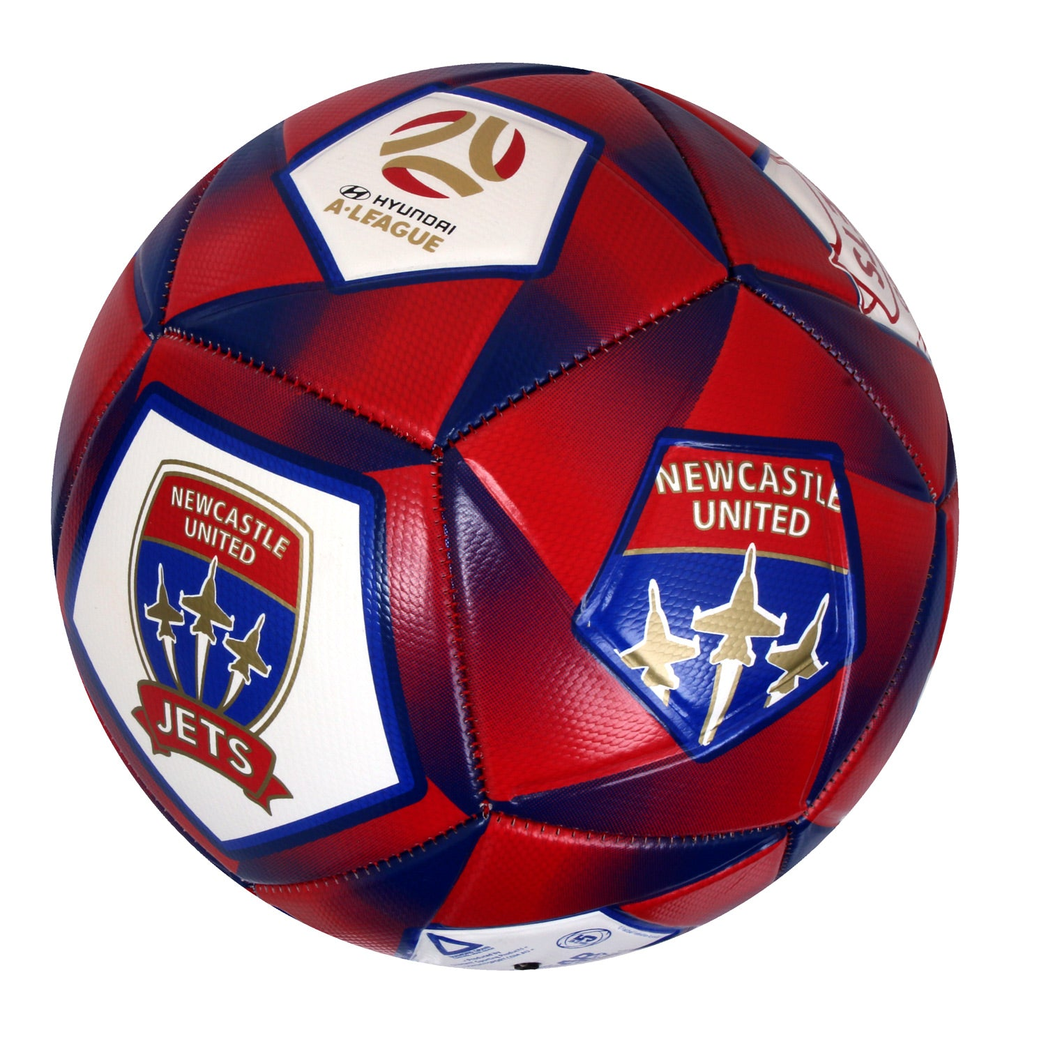 Newcastle Jets Soccer Ball 840a04162482