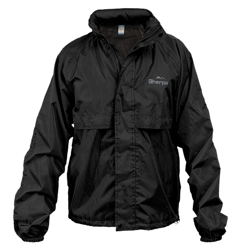 Sherpa Stay Dry Hiker Jacket - Black